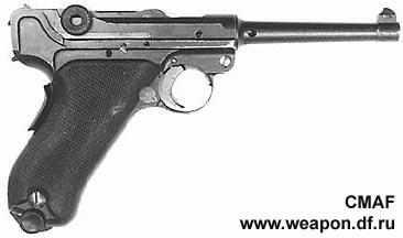 """Пистолет """"Парабеллум"""" Lug02"""