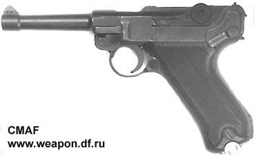 """Пистолет """"Парабеллум"""" Rebra"""